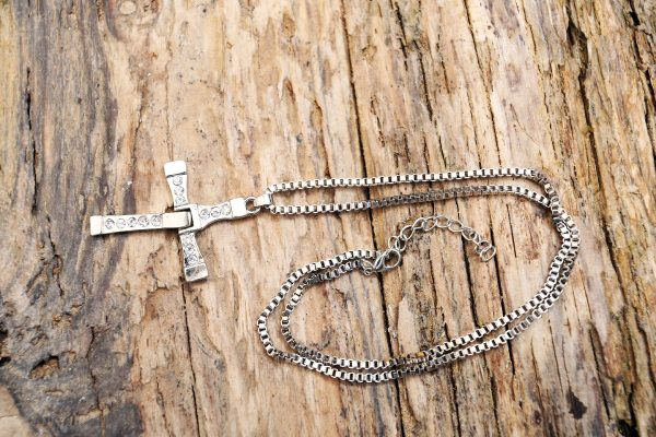 Cross necklace from Holy Land