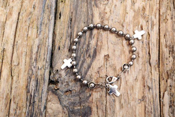 Three cross bracelet from Holy Land